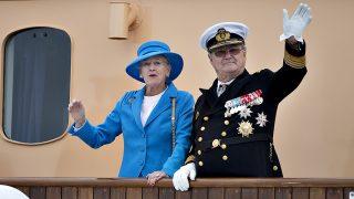 La reina Margarita y el príncipe Henrik / Gtres