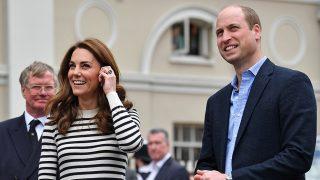 Los duques de Cambridge un día después de que Meghan Markle haya dado a luz /Gtres