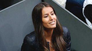 Ana Boyer, durante el último partido de Fernando Verdasco / Gtres