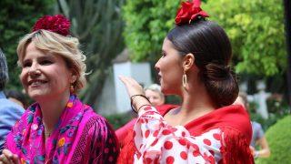 Eugenia Martínez de Irujo, en la Feria de Abril / Gtres