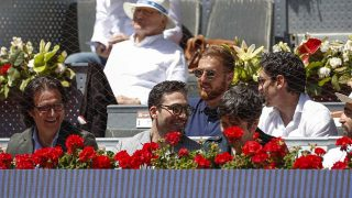 Miguel Ángel Silvestre y Poty Castillo han sido algunos de los famosos que han acudido al Master de Tenis/ Gtres