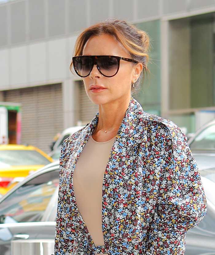 El cambio de look de Victoria Beckham
