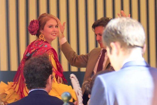 Máxima revolucionó Andalucía y bailó sevillanas en una fiesta en su honor