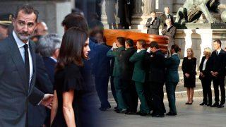 GALERÍA: Los Reyes y destacadas figuras de la sociedad española dan el último adiós a Rubalcaba
