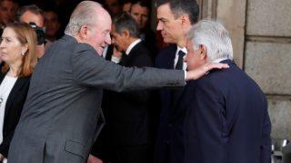 Los reyes eméritos han querido dar su último adiós a Alfredo Pérez Rubalcaba / Gtres.