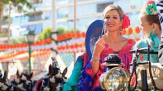 Máxima de Holanda, durante la Feria de Sevilla / Gtres