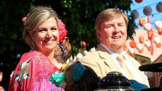 Máxima de Holanda ha demostrado sus habilidades con las sevillanas durante la Feria de Abril / Gtres