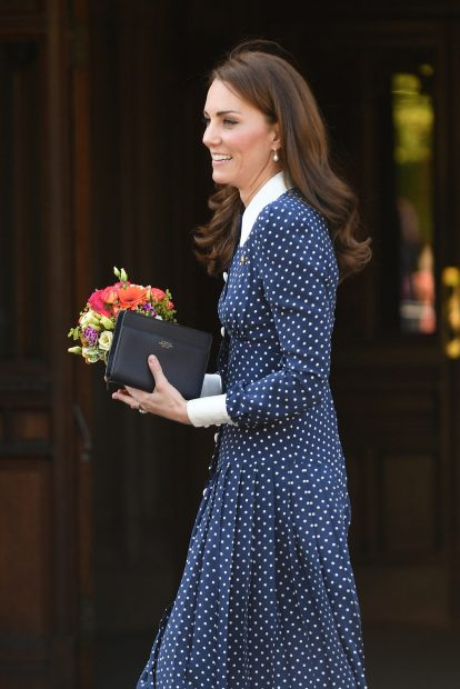 Kate Middleton se pone flamenca y hace un guiño a Meghan (pero sigue sin conocer a Archie)