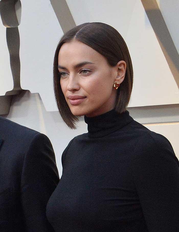 Irina Shayk tendencias pelo