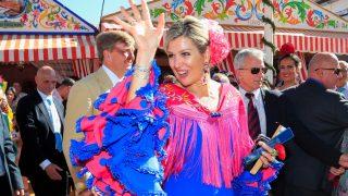 Máxima de Holanda disfruta de la Feria de Abril / Gtres.