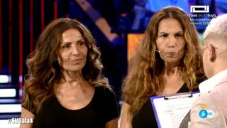 Las Azúcar Moreno vivieron momentos de gran tensión en el plató de 'Supervivientes'./Mediaset