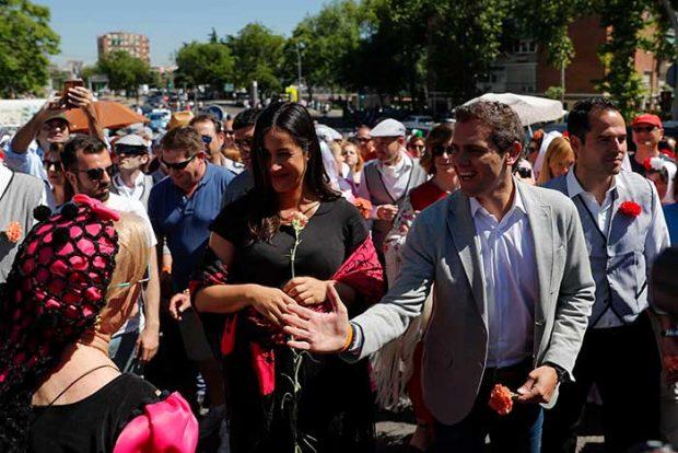 Begoña Villacís y Albert Rivera,