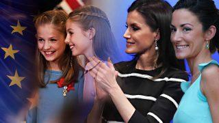 Letizia reúne a su familia en Zarzuela para ver Eurovisión