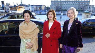 La reina Sofía junto a la princesa Takamado y la reina Silvia /Gtres