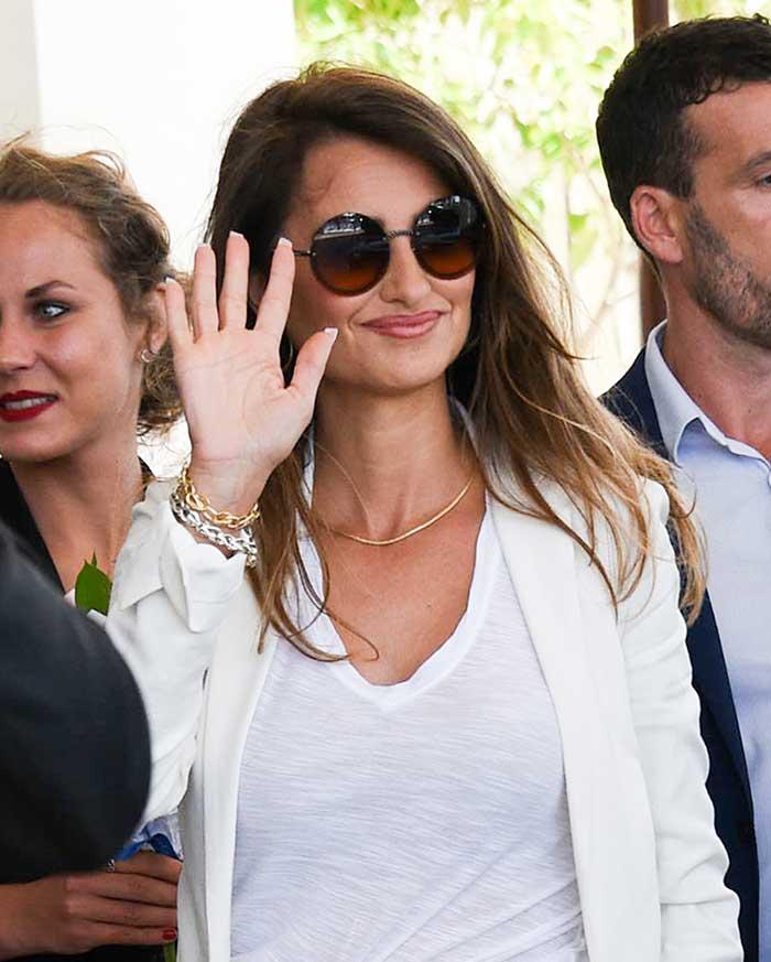 Leonardo Sbaraglia brilló en la alfombra roja de Cannes