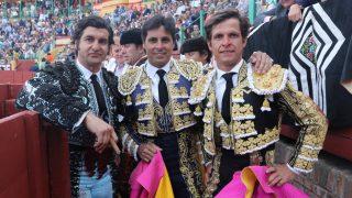 Francisco Rivera, junto a Morante de la Puebla y El Juli / Gtres.