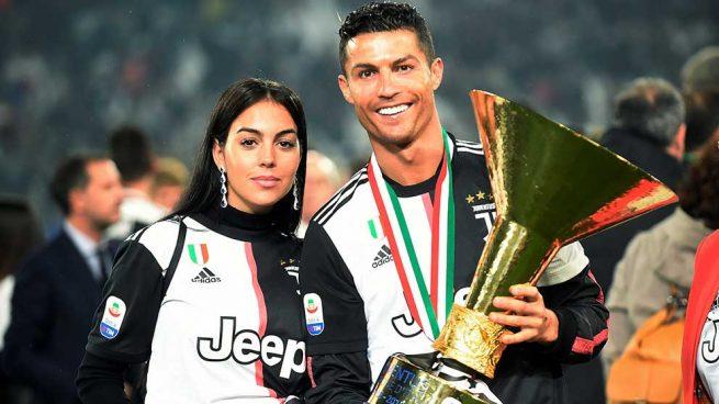 Cristiano Ronaldo, y Georgina