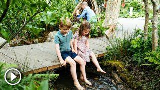 Los hijos de los duques de Cambridge, los reyes del jardín selvático de mamá / Gtres