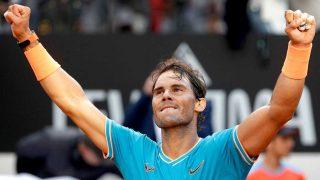 Rafa Nadal, celebrando su victoria en el Masters 1000 de Roma / Gtres
