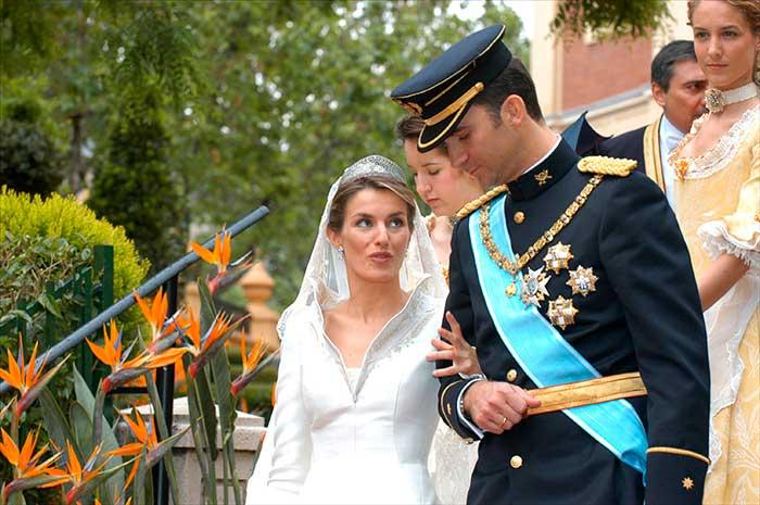 Los invitados que sucumbieron a la maldición de la boda de Felipe y Letizia