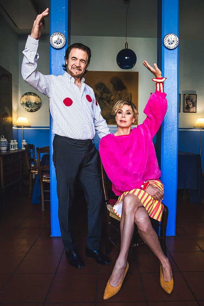 Ágatha y Tito Losada