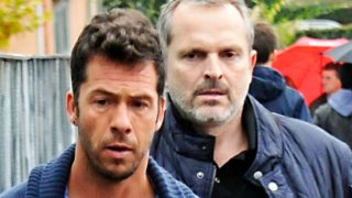 Nacho Palau y Miguel Bosé en una imagen de archivo / Gtres