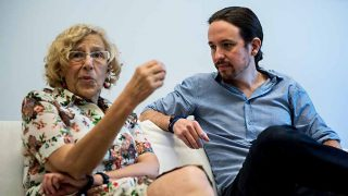 Pablo Iglesias 'fulmina' a Manuela Carmena aprovechando el final de Juego de Tronos / Gtres