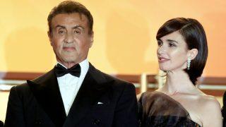 No te pierdas las imágenes de la alfombra roja donde Paz Vega triunfó junto a Sylvester Stallone / Gtres,