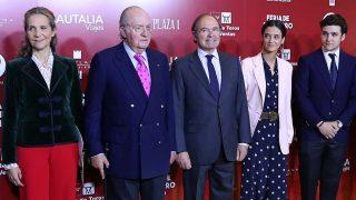 GALERÍA: Del ojo morado al tierno abrazo con Victoria Federica: los últimos pasos del rey Juan Carlos antes de retirarse / Gtres
