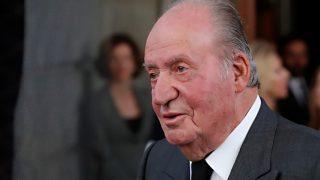 Don Juan Carlos tras anunciar su retirada / Gtres