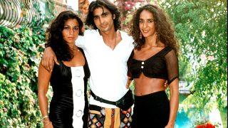 Antonio Flores, Lolita y Rosario, en una imagen de archivo / Gtres