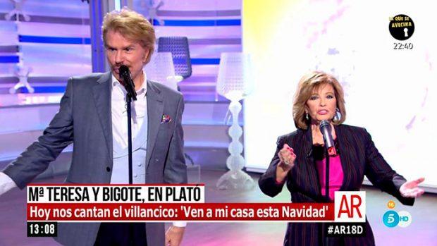 María Teresa Campos, Edmundo Arrocet