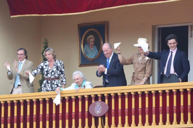Los apoyos del rey Juan Carlos en su gran despedida