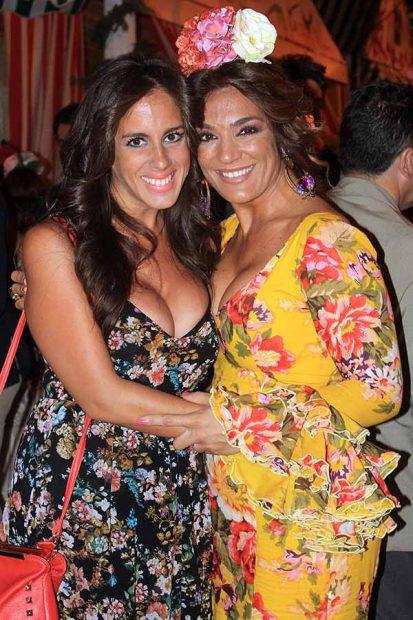 Raquel Bollo y Anabel Pantoja en una imagen de archivo