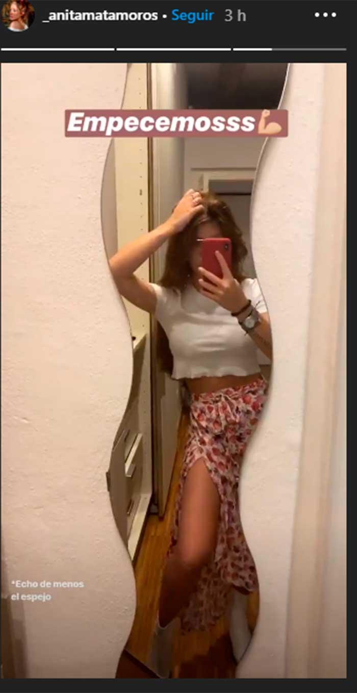 Anita Matamoros y Alba Díaz locas por la misma falda de Zara