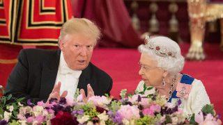 Trump y la reina Isabel / Gtres