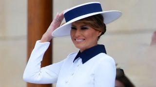 Melania Trump radiante en Buckingham / Gtres