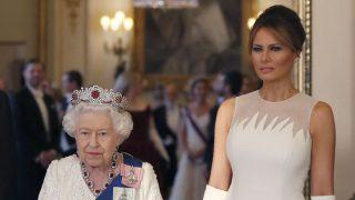 La reina Isabel y Melania Trump / Gtres