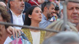 Victoria Federica este martes en la feria de San Isidro /Gtres