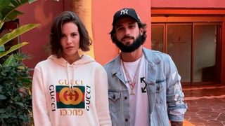 La modelo Jessica Bueno y su marido, Jota Peleteiro, en una fotografía de Instagram / Instagram
