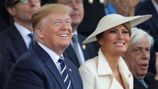 Melania Trump y su último look en Reino Unido /Gtres
