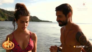 Fabio teme que Violeta le sea infiel./Mediaset
