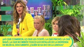Belén Esteban y Anabel Pantoja en 'Sálvame' /Mediaset
