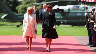 Melania Trump y Brigitte Macron / Gtres
