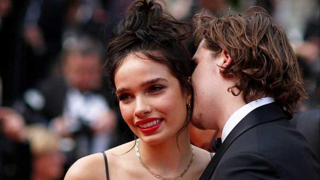 Hana Cross y Brooklyn Beckham en el Festival de cine de Cannes