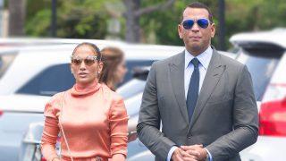 La cantante Jennifer Lopez y el deportista Alex Rodriguez en Miami. / Gtres
