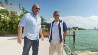 Alejandro Sanz y Bertín Osborne, con la mansión del cantante de fondo / Mediaset