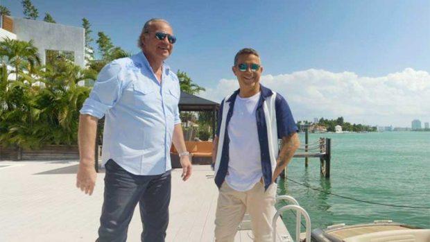 Alejandro Sanz y Bertín Osborne