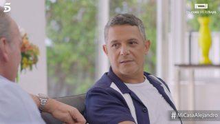 Alejandro Sanz mostró su lado más personal en 'Mi casa es la tuya'./Mediaset