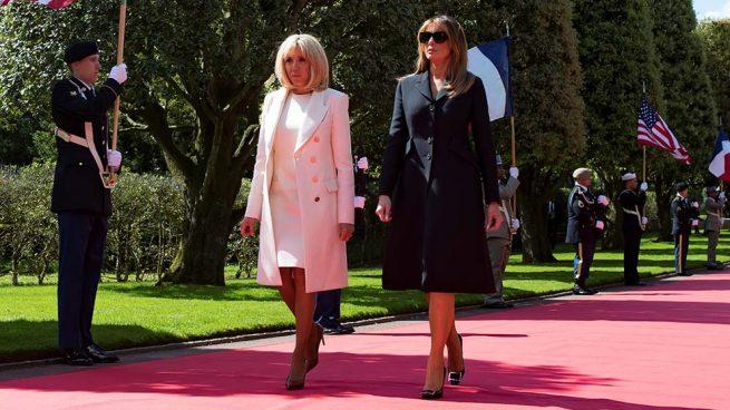 Melania Trump Brigitte Macron